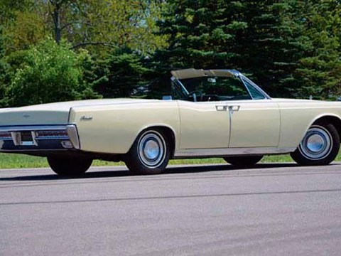 Alquiles coches clasicos Madrid. Lincoln Continental 1966
