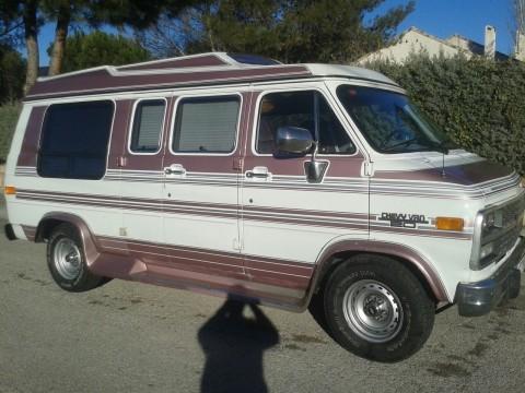 Chevrolet van 1980.4